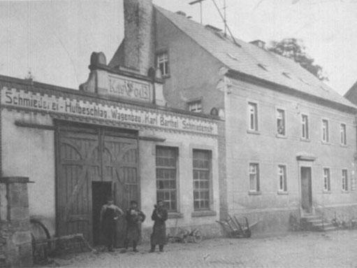 Unser erster Firmensitz 1904