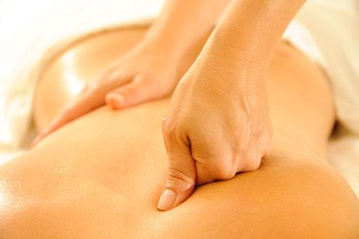 Tiefergehende therapeutische Massagegriffe