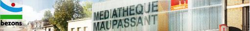 Médiathèque Maupassant - Bezons