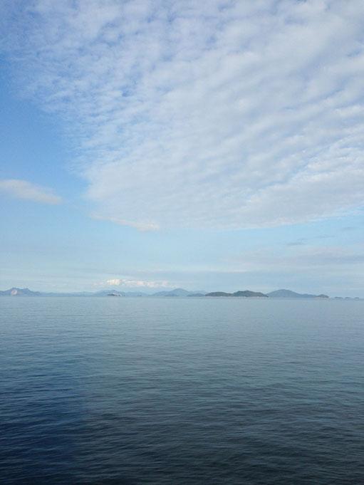 周防大島 ビー玉海岸