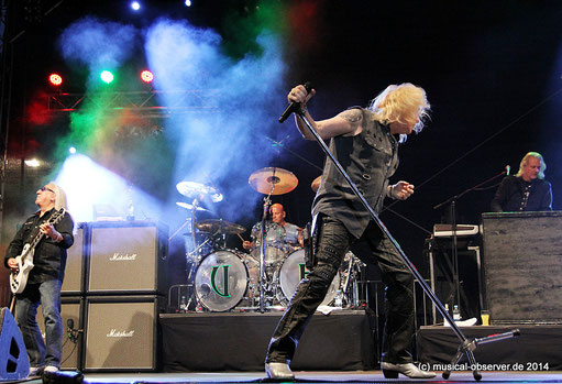 Rocken noch: URIAH HEEP. Fotos: Niels Holger Schmidt