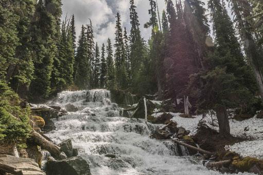 Joffre Lakes Wasserfall Hike