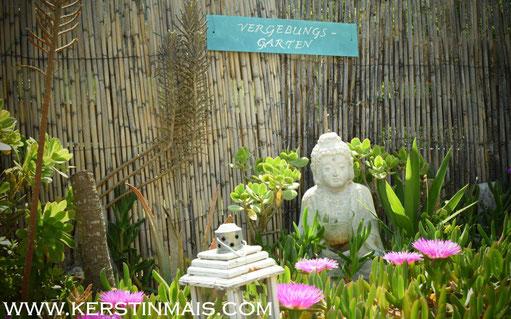 Kerstin Mais, Garten, Buddha, Achtsam sein