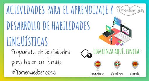 ACTIVIDADES PARA EL DESARROLLO DE HABILIDADES LINGÜÍSTICAS