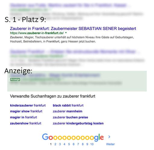 Wie komme ich von 0 auf Seite 1 in Google mit einer Jimdo Web site? SEO Tipps von Jimdo & SEO Expert Stuttgart - Peter Scheerer