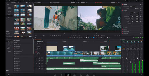 davinci resolve, da vinci resolve 17, blackmagic, editor de video, producción, postproducción, editor, multimedia