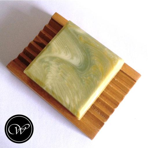 """Zigzag Cosmic Wave""   Handmade soap by Fraeulein Winter"