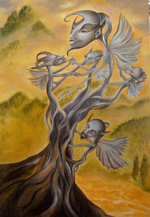 L'arbre aux têtes