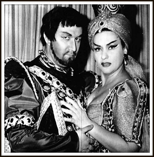 Zelmira - (Antenore) con Virginia Zeani (Zelmira) - Napoli San Carlo 1965