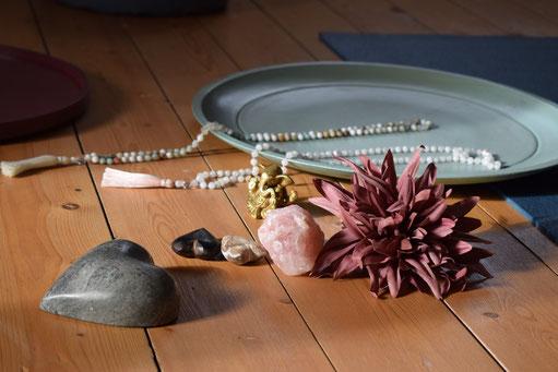 indische Gebetsketten, Malas Malaarmbänder aus Heilsteinen/ Edelsteinen