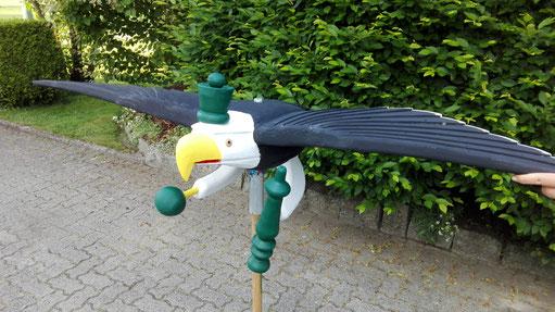 Schützenvogel 2016 vor der derVogelbeize