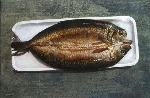 hareng fumé - détail - 2007 - M.Pavlïn