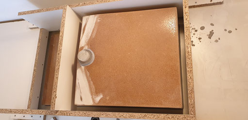 keukenblad beton gieten