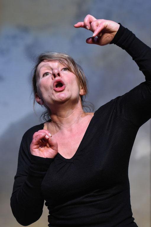 Annie Pican sur scène