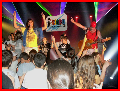 KIGRU Mitmach- und Erlebnisshow - Action und Spass mit pädagogischem Tiefgang - kindgerecht - am Puls der Zeit - echtes Entertainment