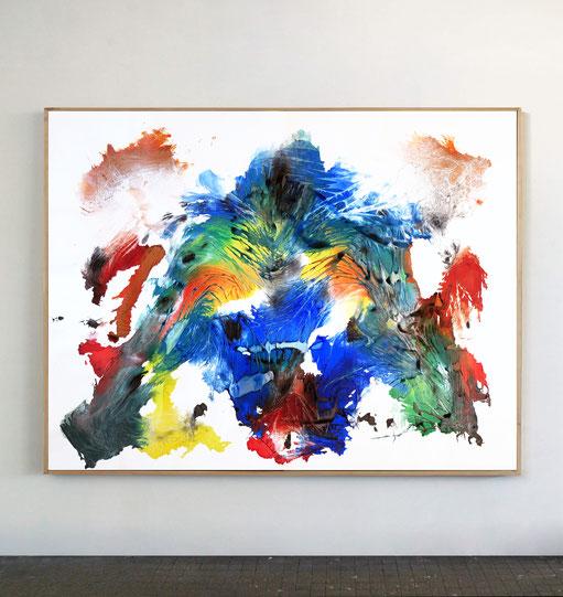 Titans n°10, série Aspirations d'eau Part. V, dim. 130 x 170 cm, 2021