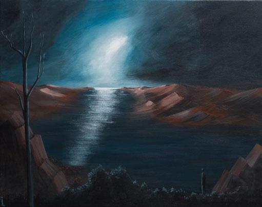 """""""La Sentinelle""""  92 x 73cm"""