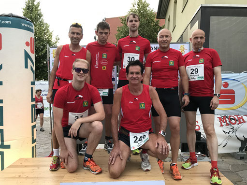 Tolles Team beim Manker Lauffestival