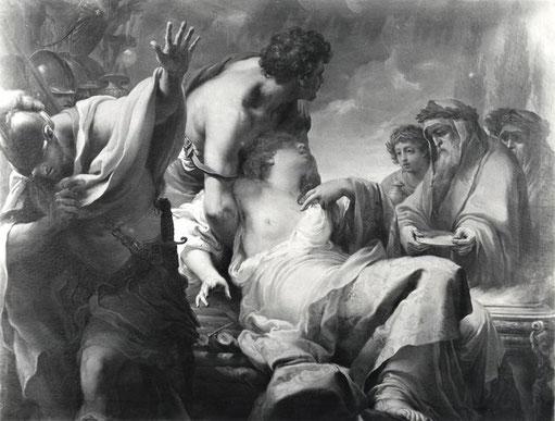 "Gaetano Gandolfi, ""Sacrificio di Ifigenia"""