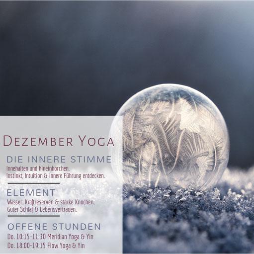 Dezember-Yoga in Graz