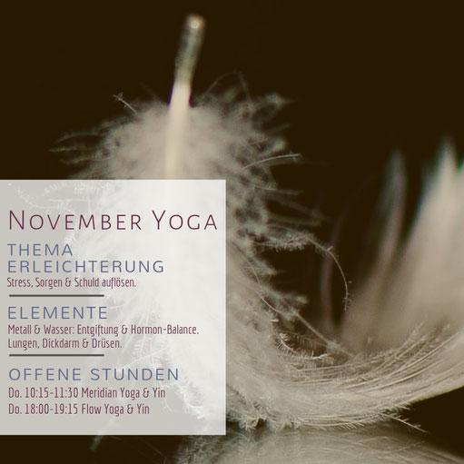November-Yoga in Graz