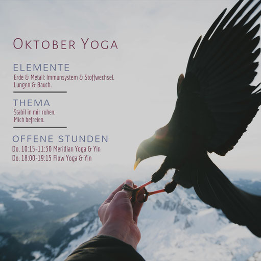 Oktober-Yoga in Graz