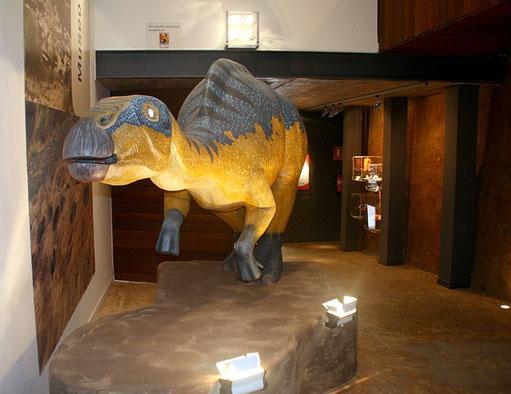 Museo de los Dinosaurios. Foto www.patrimonioculturaldearagon.es