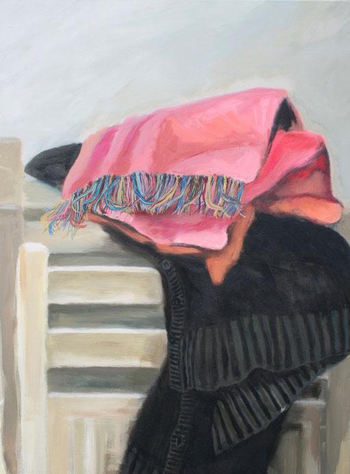 Ma veste noire, 2013 Acryl auf Leinwand 80x60