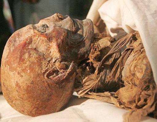 La momie de la Reine Hatchepsout