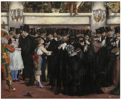 《オペラ座の仮面舞踏会》1873年