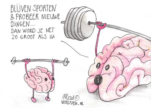 Copyright - Merel - Woelfpek (Bestel nu je eigen tekening via www.woelfpek.nl)