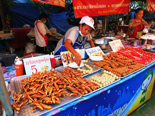 Streetfood in Sukhothai