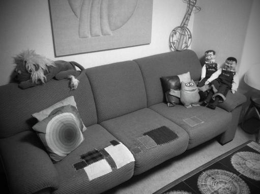 かわいいソファーになったでしよ~♪