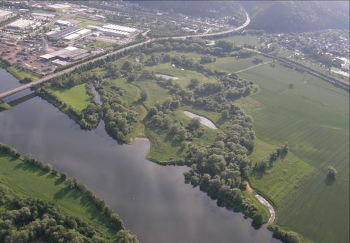 © NABU Region Trier - Kyllmündung nach der Renaturierung