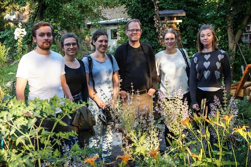 Der neue AK, v.l.n.r. Andreas Witt, Udo Färber, Maren Niehues, Susanne Mickel. Bild: Axel Goldmann