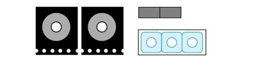 Inhalt des Bausatz Polarisationsmikroskopie