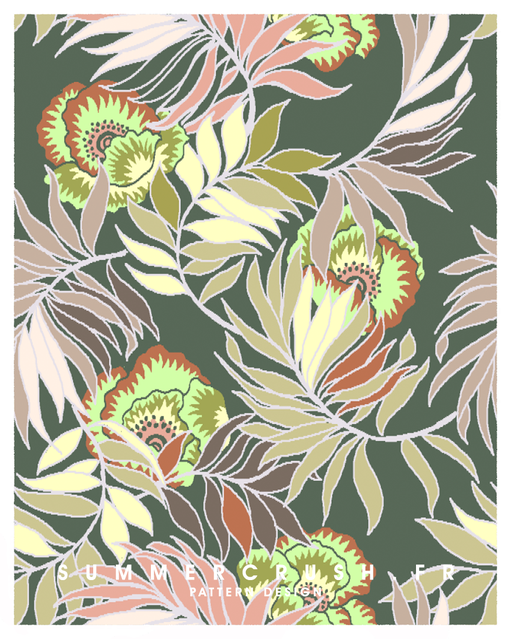 Maxi Floral jacquard • Summer 2017