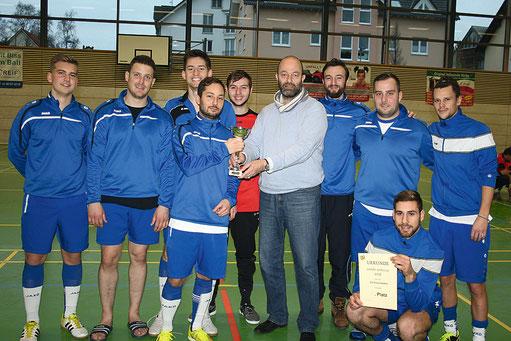 Ein wohlverdienter dritter Platz für das Team von Kilianstädten. Im letzten Moment für eine Absage eingesprungen hat sich das Turnier für den Schönecker Verein gelohnt.