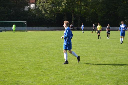 Marcel Landgrafs Comeback im Blauen Trikot war wohl die beste Senner Nachricht vom 5. Spieltag