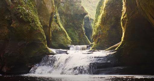 Devil´s Pulpit, Highland Saga, Outlander, Film Location, Schottland Reise, Show,