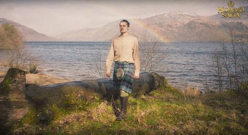 Highland Saga Film, Loch Lomond, Highlander, Highland Saga Show, Scottish Music, Scotland, Schottische Musik, Dudelsack, Bagpipe, Music Show, Rainbow, Regenbogen