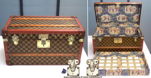 old moynat doll trunk