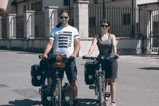 Abenteuerzeilen, Bloggerin auf Radtour von München nach Tarifa