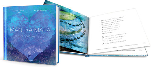 Mantra Mala, Livre de poésie illustrée