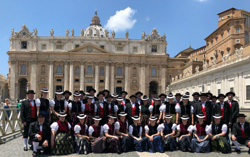 Fronleichnam im Vatikan 2018