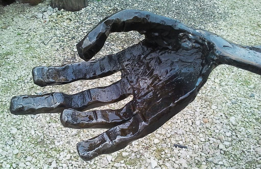 geschmiedete Hand