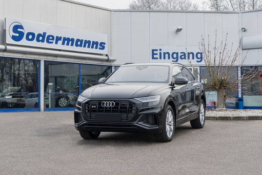 behindertengerechter Audi Q8 Selbstfahrerumbau, Linksgas, Sodermanns