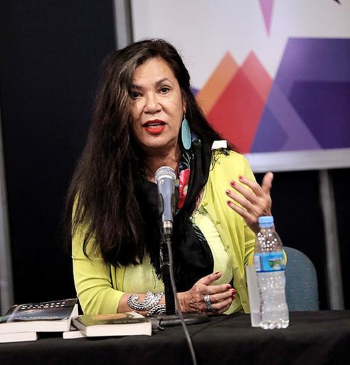 The writer Ana Castillo (Source Wikicommons)