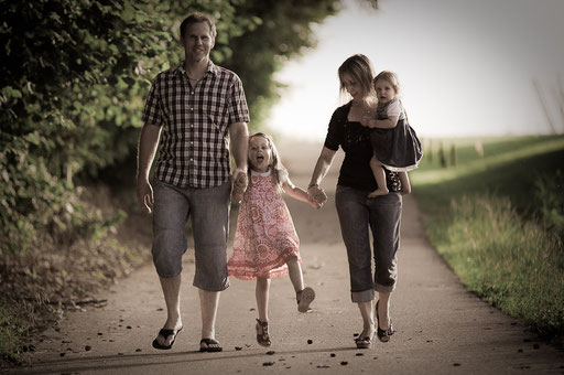 Shooting mit Lena und ihrer Eltern