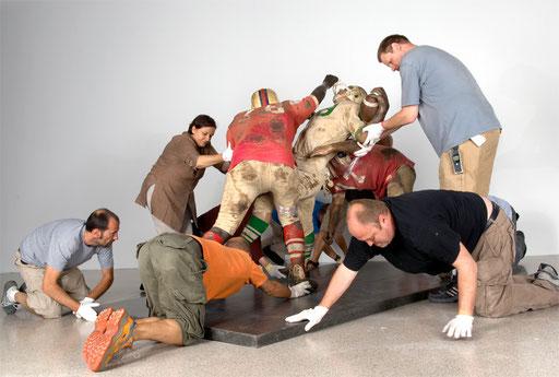 aus der Serie Museum im Zustand, Duane Hanson